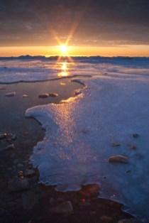 Hank Erdmann 521-18 Newport Sunrise Ice V x1000