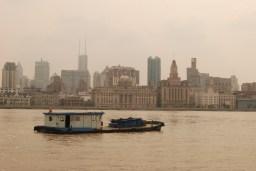 Huangpu River looking toward the Bund