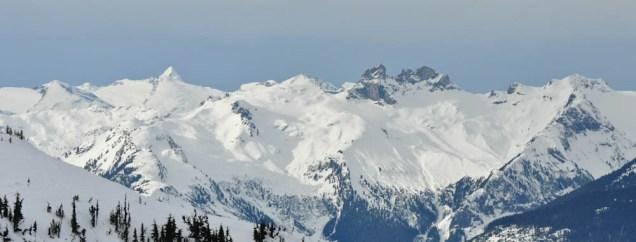 Coast Mountains from Whistler Mountain