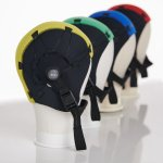 product photography of medical device headgear
