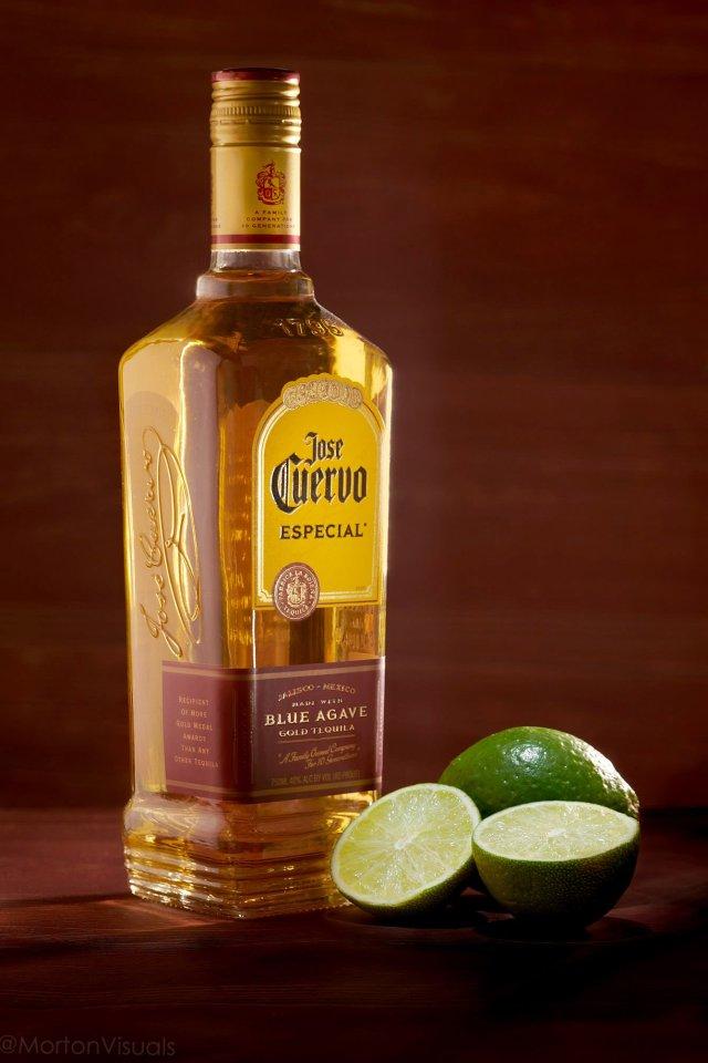 liquor product photography