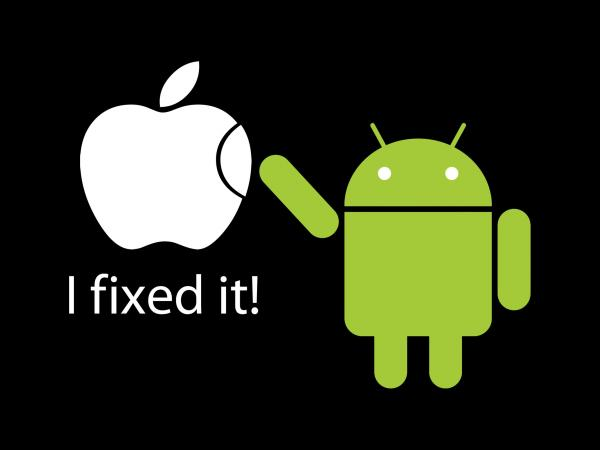 apple android i fixed it