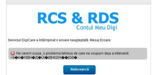 Digicare rcs rds fail