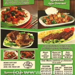 MENIU - Restaurant chinezesc oradea - Asia Gourmet - 2