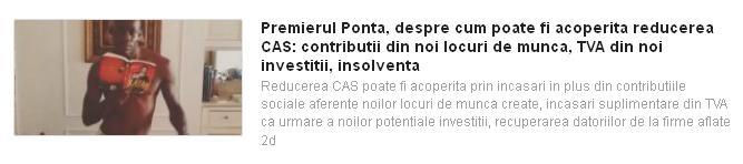 feedly - Ponta si reducerea CAS