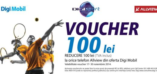 Voucher 100 lei Allview