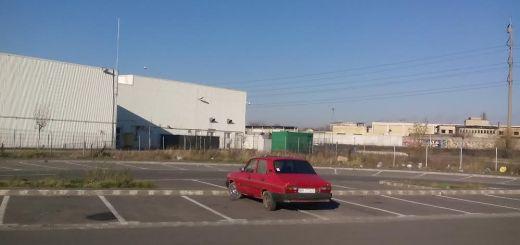 parcare Auchan Oradea - decembrie 2014