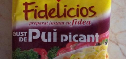 Maggi Fidelicios gust de pui picant