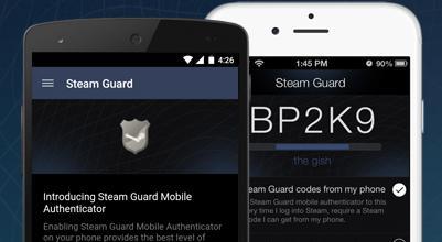 Steam mobile authenticator