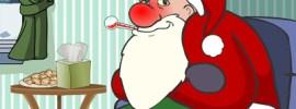 sick santa