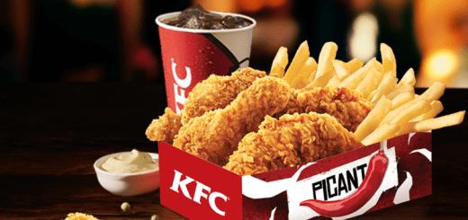 KFC Smart meniu plus picant