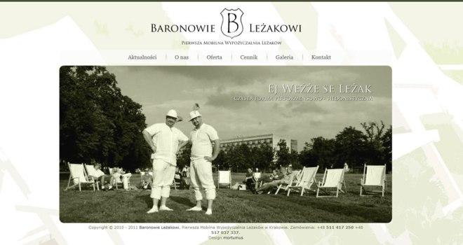 Baronowie Leżakowi - wypożyczalnia leżaków Kraków