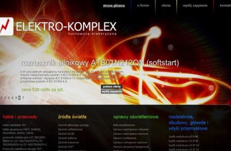 Elektrokomplex - hurtownia elektryczna woj. świętokrzyskie