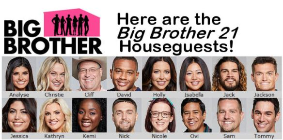 """The """"Big Brother 21"""" Houseguests Have Been Revealed"""