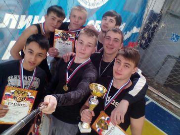 Курсанты Сахалинского высшего морского училища стали чемпионами районного турнира по мини-футболу