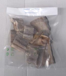 Stockfish brosme tranches
