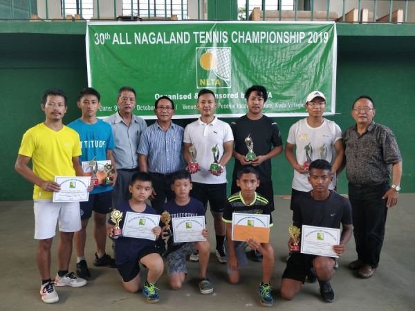 Tennis: 30th All Nagaland Tennis Championship 2019 ...