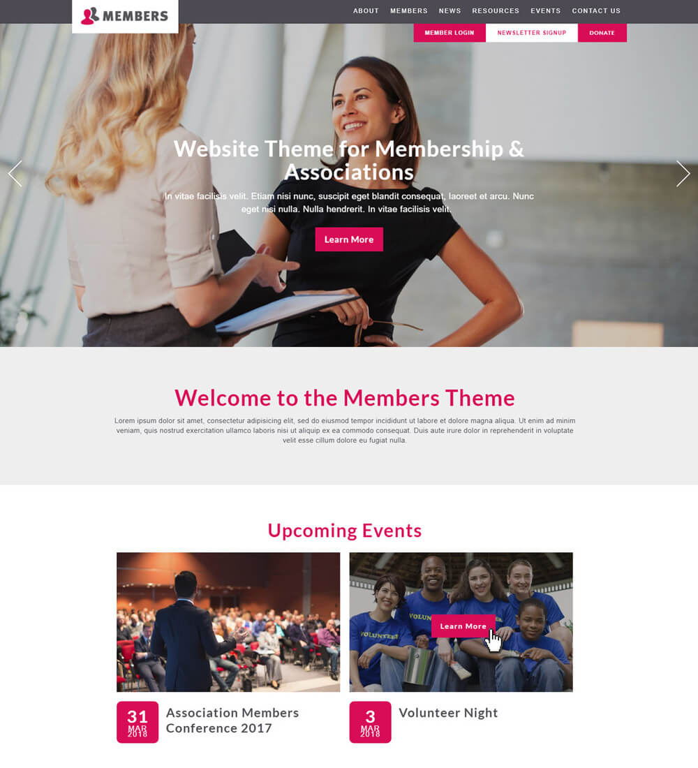 Just set up the file as you'd like it to look for your. Top 9 Nonprofit Website Templates For All Organizations