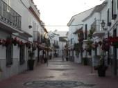 white streets in Estepona