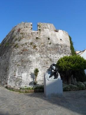 Castle ruins in Estepona