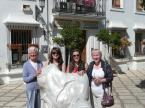 With the family in Estepona
