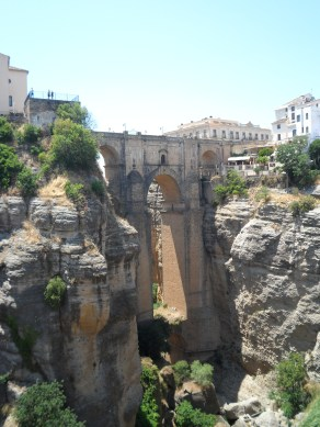 The 'new' bridge in Ronda