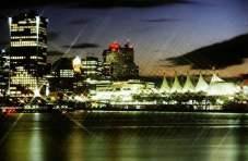 Vancouver lśnił niczym diament