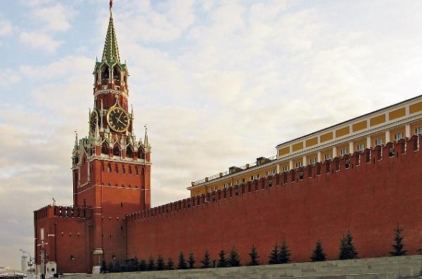 Спасская башня Московского Кремля - Москва
