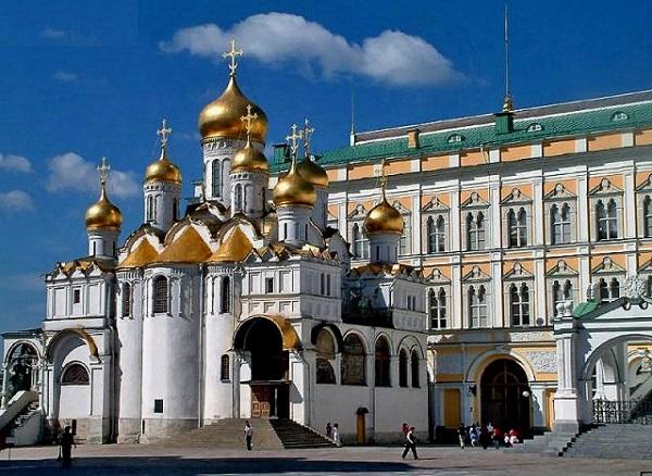 Московский Кремль Благовещенский Собор Фото
