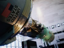 Détente. Apollo and Soyuz come together over me