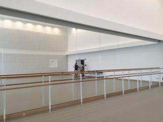 Ballet rehearsal room