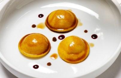 Reverse tortellini by Massimo Bottura