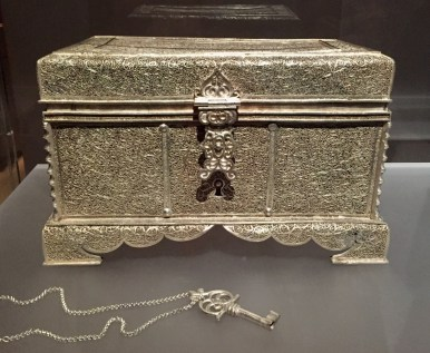 Silver Casket from China - Mid 17th century