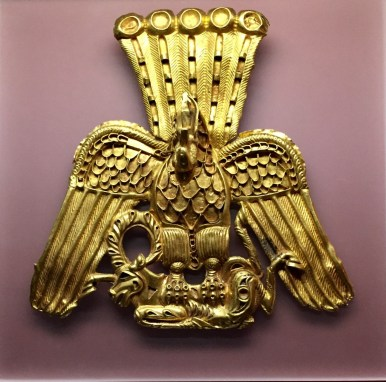 Gold plaque in the shape of a gryphon - 4th-3rd c. BC