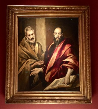 El Greco, The Apostles Peter and Paul, 1587-1592