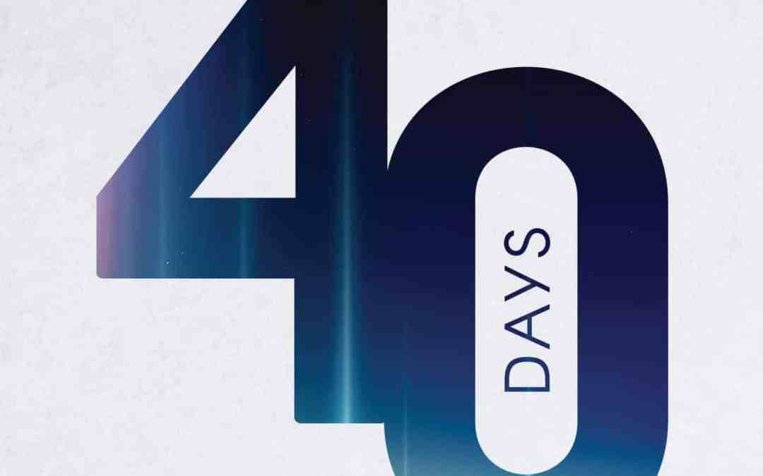 Forty Days: Inspiring Daily Lessons in Teshuvah, Tefillah, and Tzedakah