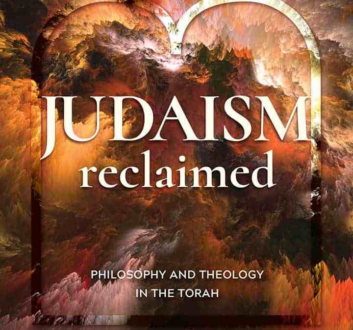Judaism Reclaimed