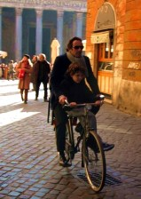 Bicycling in Rome