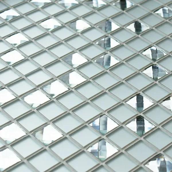 Diamond Cluster Glass Mosaics Mosaic Village