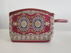 Trousse de toilette Konya bordeau