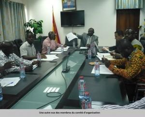 Une autre vue des membres du comite d'organisation
