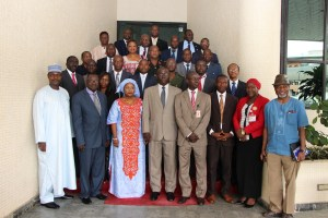 Group photograph of Participants- Validation Workshop on    the ECOWAS StandbyForce Civilian Dimension Policy Framwork, Abuja, 30th    July, 2015. IMG_9844