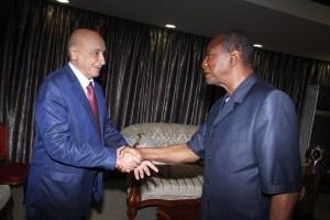 Prg et président du parlement libyen
