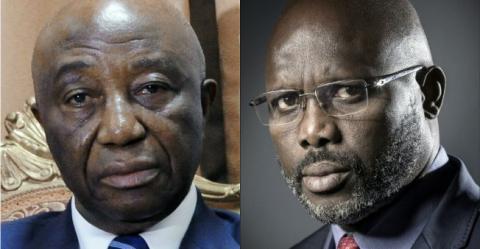 Liberia-Election : second tour fixé au 26 décembre