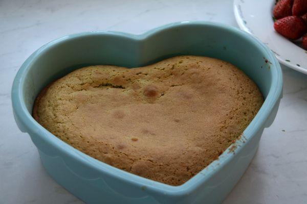 Kuchen in Kuchenform