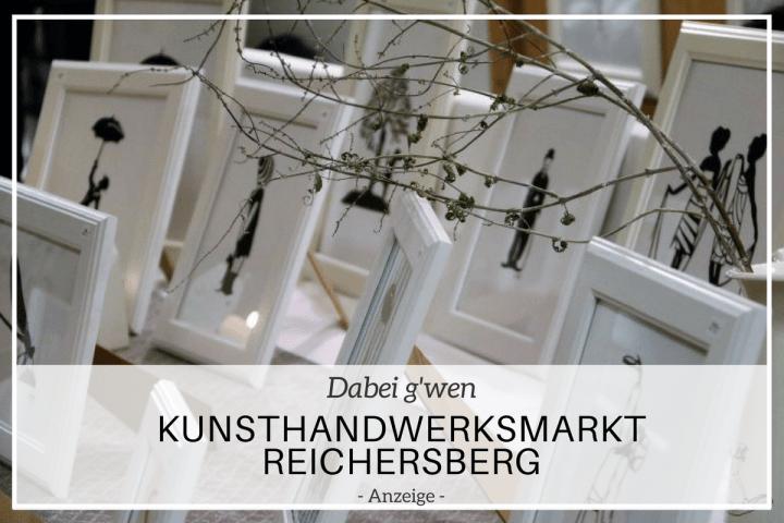 Mosauerin am Kunsthandwerksmarkt in Reichersberg
