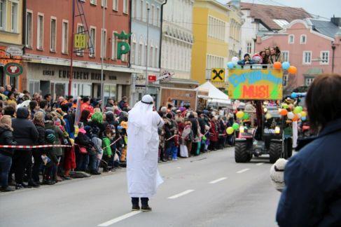 Mosauerin Faschingsumzug Mauerkirchen 2018