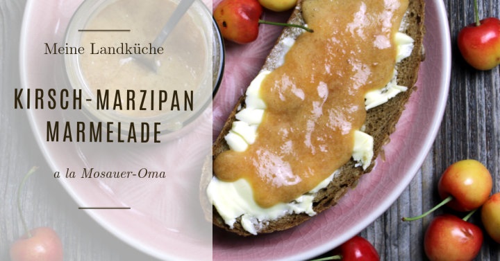 Kirsch-Marzipan Marmalad (a la Mosaueroma)