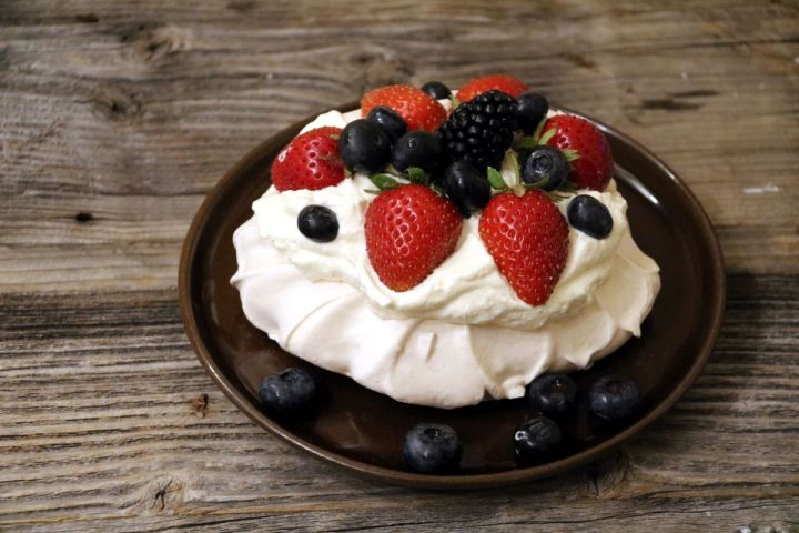 Wir backen: Mini Pavlova