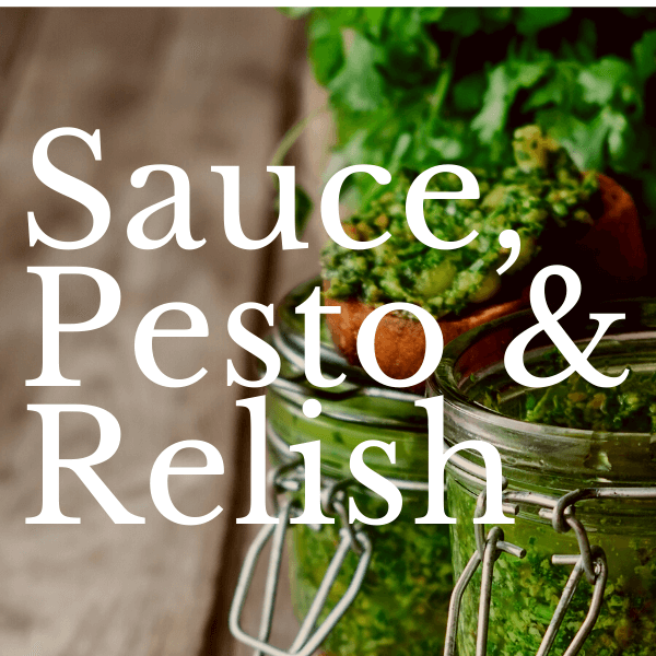 Saucen Pesto & Relish